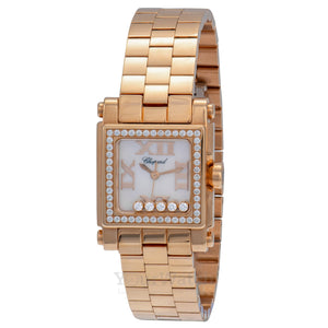Chopard Happy Sport Round Quartz 30mm Ladies Watch 275349-5004