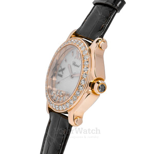 Chopard-Happy Sport Round Quartz 36mm Ladies Watch-277473-5001-$15520.00
