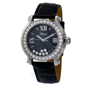 Chopard Happy Sport Round Quartz 36mm Ladies Watch 278475-3048