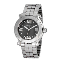 Chopard-Chopard Happy Sport Round Quartz 36mm Ladies Watch-278477-3014-$4100.00