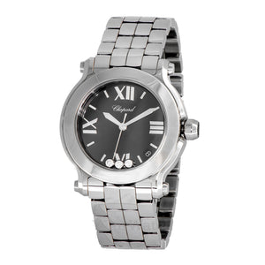 Chopard Happy Sport Round Quartz 36mm Ladies Watch 278477-3014