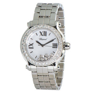 Chopard Happy Sport Round Quartz 36mm Ladies Watch 278478-2001