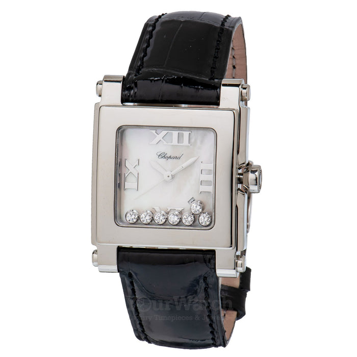Chopard Happy Sport Square Quartz 35mm Ladies Watch
