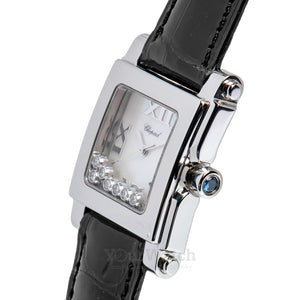 Chopard Happy Sport Square Quartz 35mm Ladies Watch 278495-3002