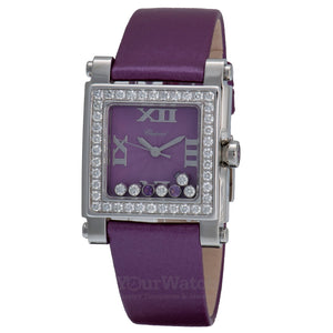 Chopard Happy Sport Square Quartz 30mm Ladies Watch 278504-2002
