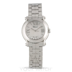 Chopard Happy Sport Round Quartz 30mm Ladies Watch 278509-3002