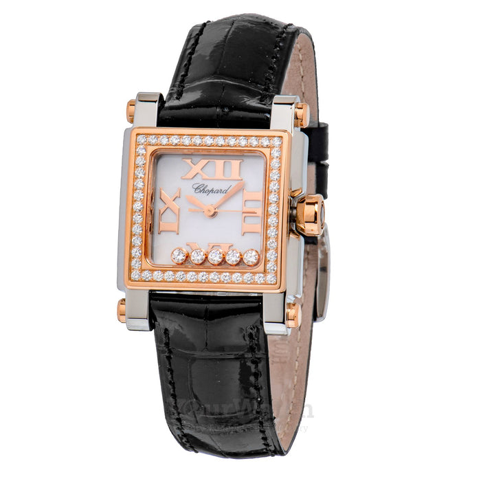 Chopard Happy Sport Square Quartz 27mm Ladies Watch