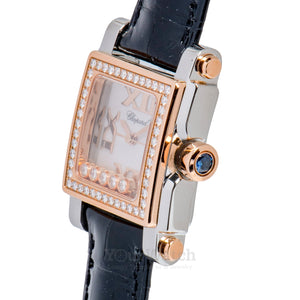 Chopard Happy Sport Square Quartz 30mm Ladies Watch 278516-6003