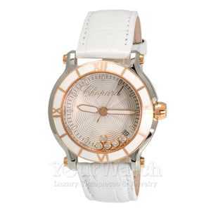 Chopard Happy Sport Round Quartz 36mm Ladies Watch 278551-6002
