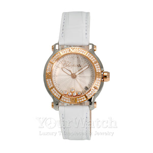 Chopard Happy Sport Round Quartz Diamonds 36mm Ladies Watch