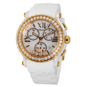 Chopard Happy Sport Chronograph Quartz 42mm Ladies Watch 288515-9002