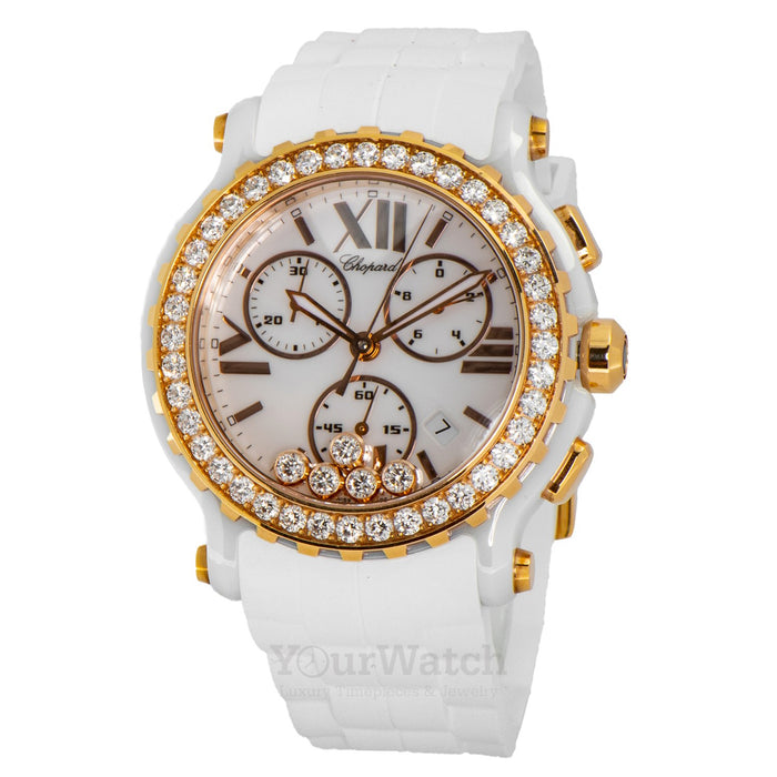 Chopard-Happy Sport Chronograph Quartz 42mm Ladies Watch-288515-9002-$17900.00