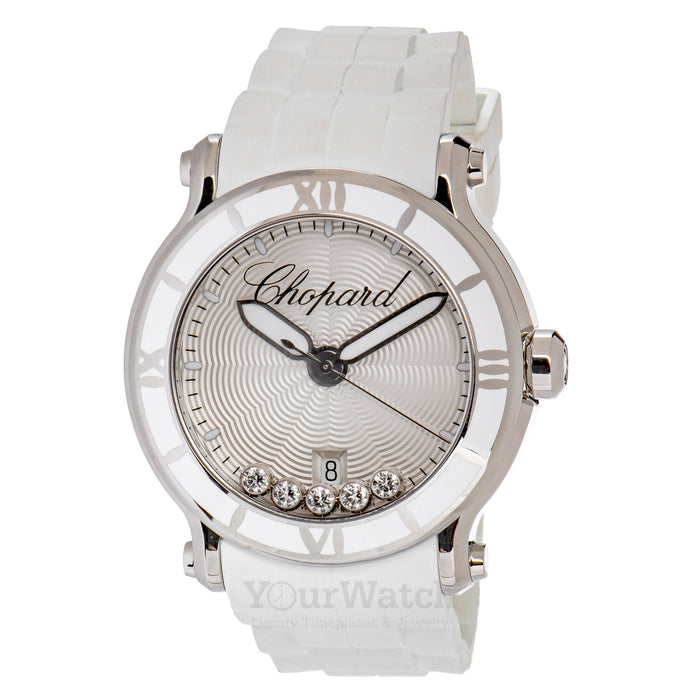 Chopard-Chopard Happy Sport Round Ladies Watch-288525-3002-$4900.00