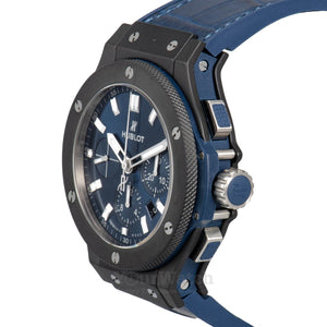 Big Bang Ceramic Blue Chronograph 44mm Mens Watch