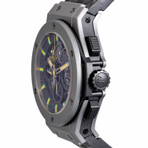 Hublot Oscar Neimeyer Skeleton Dial Mens Watch