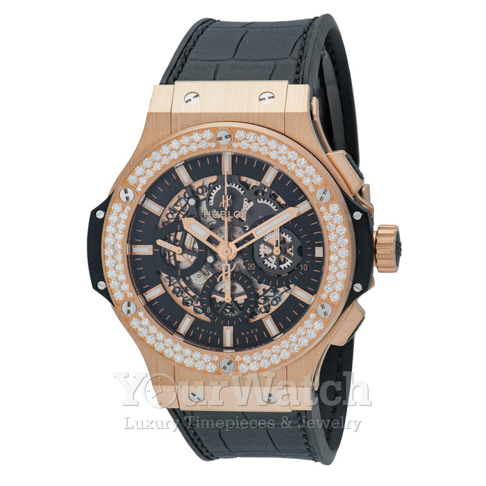 Hublot-Hublot Big Bang Aero Bang Chronograph Automatic Diamond Men's Watch-311.PX.1180.GR.1104-$28925.00