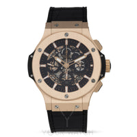 Hublot-Hublot Big Bang Aero Bang Gold 44mm Black Rubber Men's Watch-311.PX.1180.GR-$23684.00
