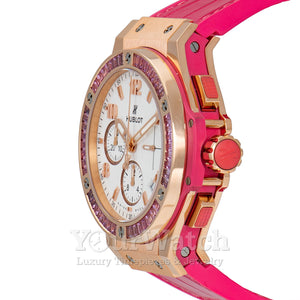 Hublot Big Bang Gold Tutti Frutti 41mm Ladies Watch 341.PP.2010.LR.1933