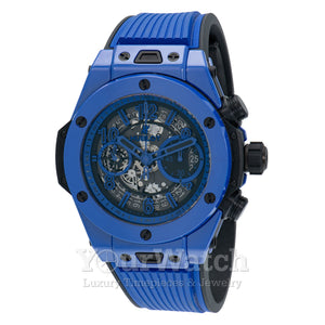 Hublot-Hublot Big Bang Unico Blue Magic Limited Edition Chronograph Automatic Matte Black Men's Watch-411.ES.5119.RX-$15465.00