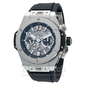 Hublot Big Bang Unico Titanium Automatic Skeletal Dial Men's Watch 411.NX.1170.RX