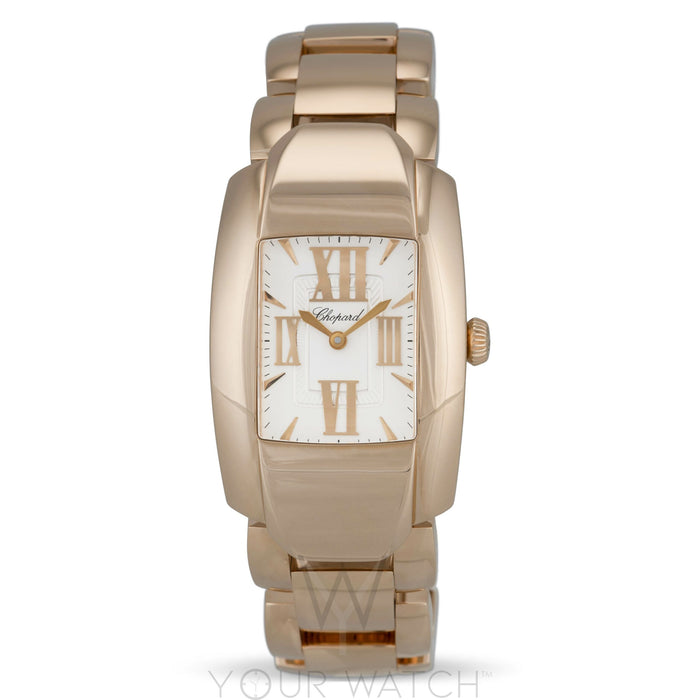 Chopard La Strada Square Quartz 18K Rose Gold Ladies Watch