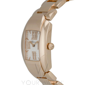 Chopard La Strada Square Quartz 44mm 18K Rose Gold Ladies Watch 419254-5001