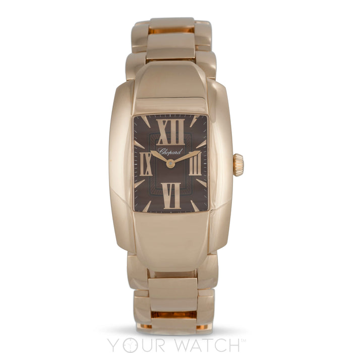 Chopard La Strada Square Quartz 44mm 18K Rose Gold Ladies Watch