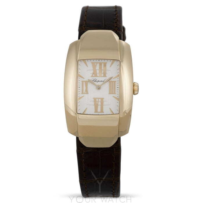 Chopard La Strada Square Quartz 18k Yellow Gold Ladies Watch