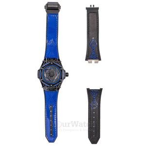 Hublot Big Bang Sang Bleu All Black Blue 39mm Men's Watch 465.CS.1119.VR.1201.MXM18