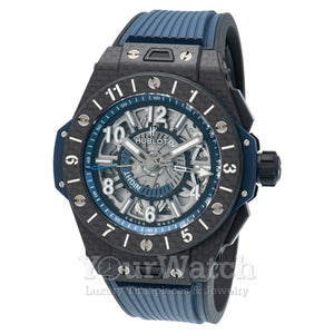 Hublot Big Bang Unico GMT Automatic Skeleton Dial Men's Watch 471.QX.7127.RX