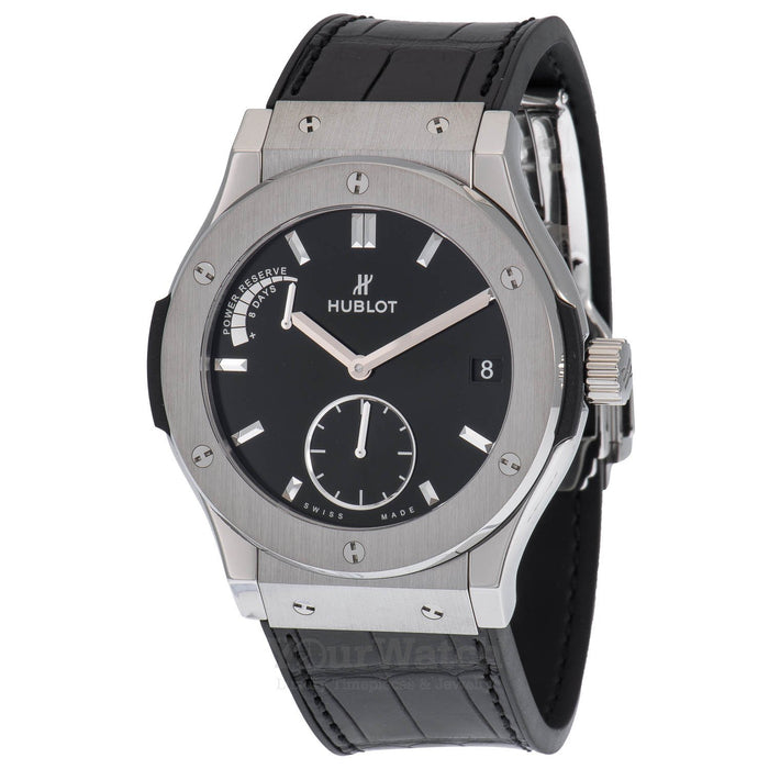 Hublot Classic Fusion Power Reserve 8 Days 45mm Mens Watch