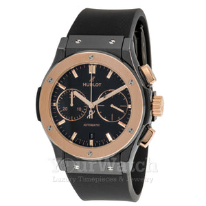 Hublot Classic Fusion Chronograph Automatic Black Dial Mens Watch 521.CO.1181.RX