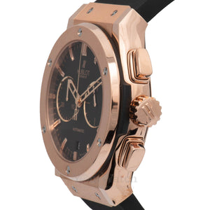 Hublot Classic Fusion 18 Carat King Gold Chronograph Mens Watch