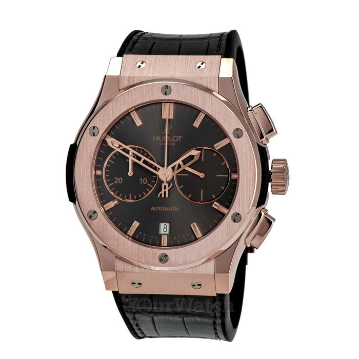 Hublot Classic Fusion Racing Automatic Men's Chronograph 18K King Gold Watch