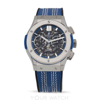 Hublot-Aerofusion Chronograph Automatic Titanium Limited Edition Men's Watch-525.NX.0129.VR.ICC16-$10200.00