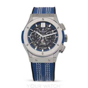 Hublot Aerofusion Chronograph Automatic Titanium Limited Edition Men's Watch 525.NX.0129.VR.ICC16