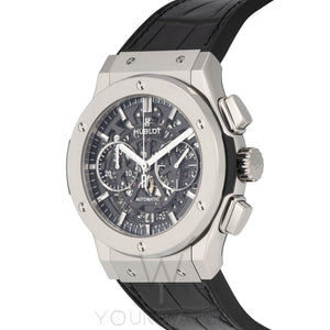 Hublot Classic Fusion Automatic Chronograph Skeleton Dial Mens Watch 525.NX.0170.LR