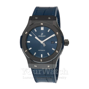 Hublot Classic Fusion Automatic Blue Dial Men's Watch 542.CM.7170.LR