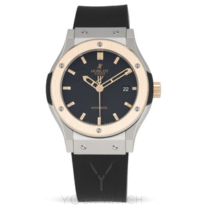 Hublot Classic Fusion Zirconium Automatic Black Dial Mens Watch 542.NO.1180.RX