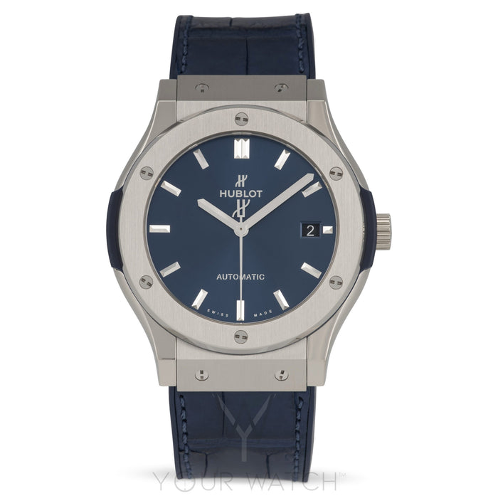 Hublot Classic Fusion Automatic Blue Dial 42mm Mens Watch