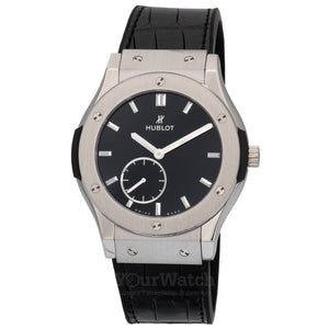 Hublot-Hublot Classic Fusion Classico Ultra Thin 45mm Mens Watch-545.NX.1270.LR-$7250.00