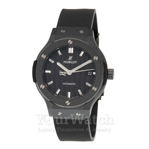 Hublot Classic Fusion Black Magic Automatic 38mm Mens Watch 565.CM.1771.RX