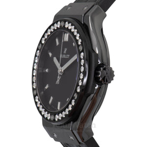 Hublot Classic Fusion Quartz 33mm Ladies Watch 581.CM.1171.LR.1104