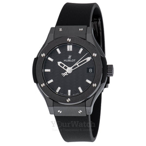 Hublot-Classic Fusion Quartz Ceramic 33mm Ladies Watch-581.CM.1770.RX-$4460.00