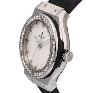 Classic Fusion 33mm Women's Watch in Titanium with Diamond Bezel 581NX2610RX1104
