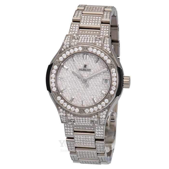 Hublot Classic Fusion Quartz 33mm Ladies Watch