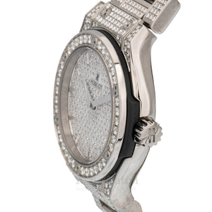 Hublot Classic Fusion Quartz 33mm Ladies Watch 581NX9010NX3704