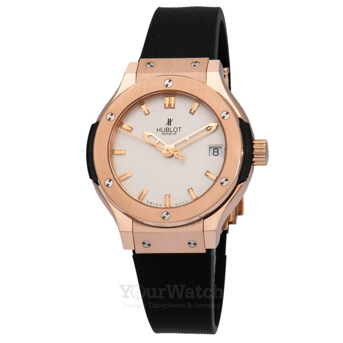 Hublot Classic Fusion Quartz Gold 33mm Ladies Watch