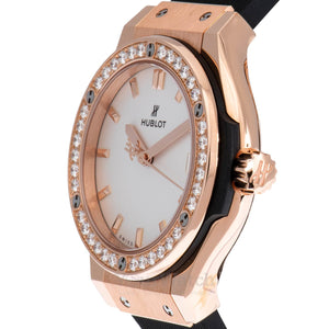 Hublot Classic Fusion Quartz 33mm Ladies Watch 581.OX.2611.RX.1104