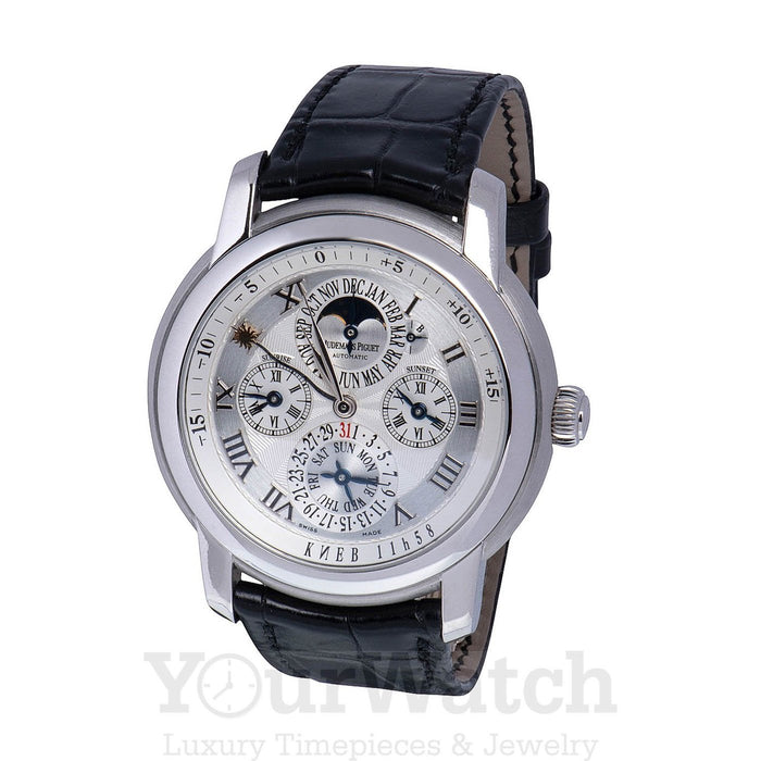 Audemars Piguet-Audemars Piguet Jules Audemars Equation of Time Men's Watch-26003BC.OO.D002.CR-$45900.00